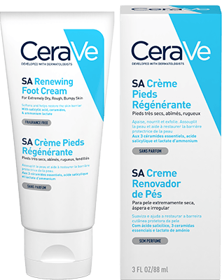 CeraVe SA Foot Cream